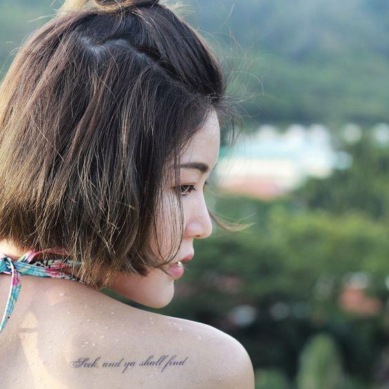 Custom Temporary Tattoos by TOOD - Seek, and ya shall find