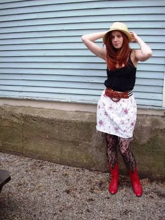 red cowgirl booties - Google Search