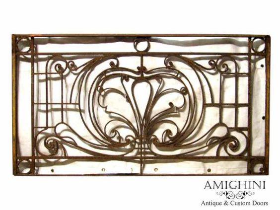 Antique Wrought Iron Balcony