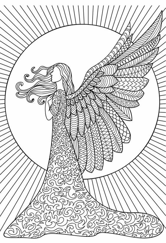Nayan22roy I Will Make Image Into Line Art Vector Art Illustration For You For 5 On Fiverr Com Angel Coloring Pages Doodle Coloring Coloring Pages