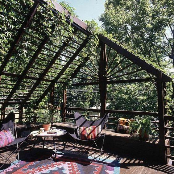 Garten Designideen - Pergola selber bauen