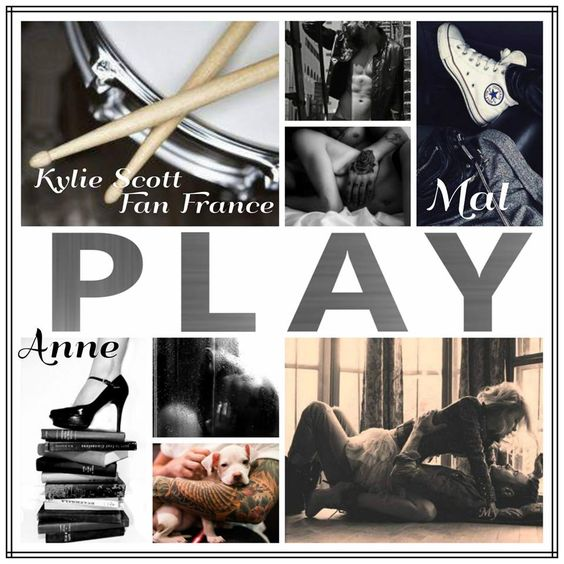 My créa for #KylieScottFanFrance #Play #KylieScott #StageDive #Mal_Anne