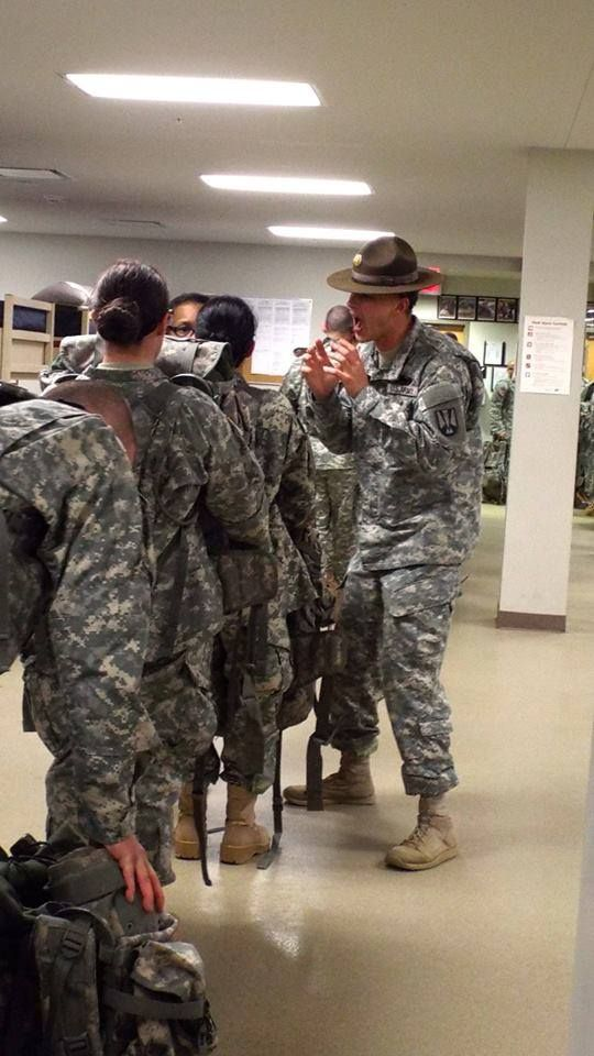 Drill Sergeant introducing himself. Fort Jackson, SC | US ...