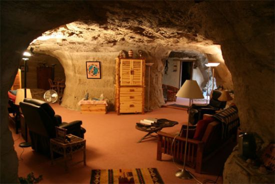 Retreat with adventure sum up to be  Kokopelli's Cave Bed