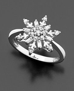 snowflake ring...pinned by ♥ wootandhammy.com, thoughtful jewelry.