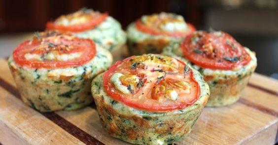 Essen Lust Menschen Liebe: Cheesy Spinat-Muffins für #MuffinMonday