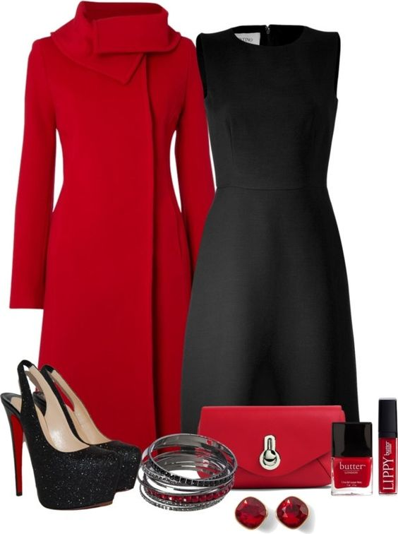 Red and black: