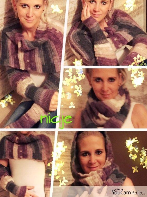 Wer oft friert, wird diesen Ärmel-Schal lieben. Damit kannst Du Dich schön warm einpacken. Häkle jetzt los, damit Dein Schal schnell fertig wird. Viel Spaß.