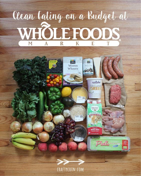 Clean Eating on a Budget at Whole Foods Market