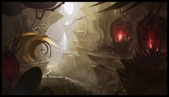 Alien Jungle by Joshk92.deviantart.com on @deviantART: