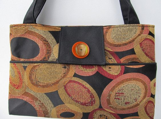 Another Mod Print Tote by no4daughter on Etsy