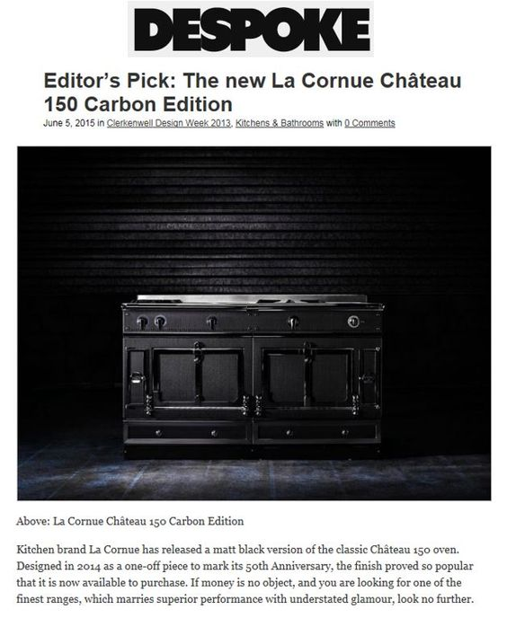 editor chateaus and la cornue on pinterest. Black Bedroom Furniture Sets. Home Design Ideas