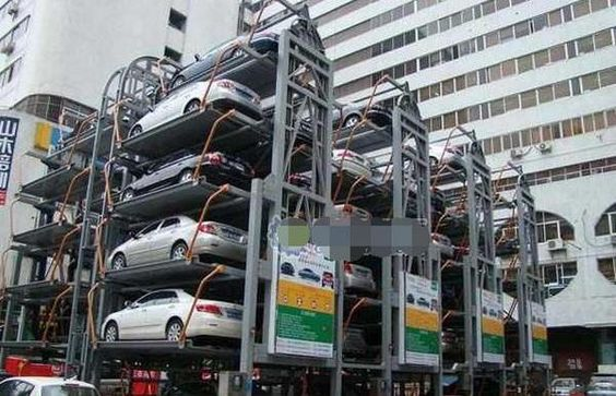 Rotary Car Parking System Uae Middle East B2b Pinterest Uae