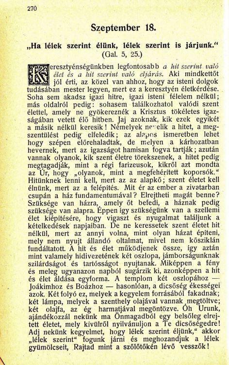 09.18. Spurgeon: Harmatgyöngyök...
