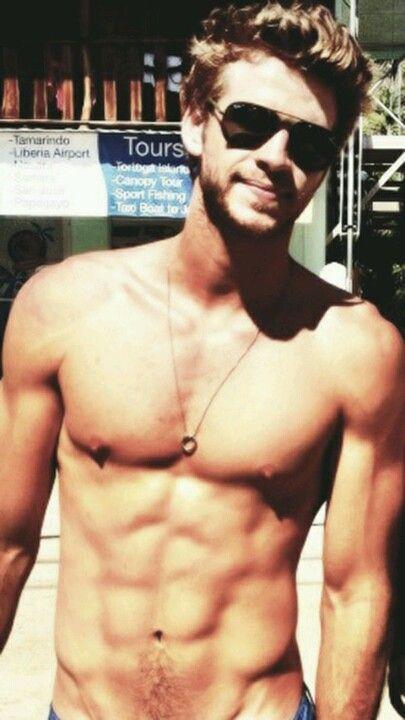 Liam Hemsworth. Wellllll hello there beautiful!