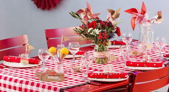 Table guinguette 5 id es de d co super faciles tables d coration et cu - Deco style guinguette ...
