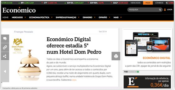 MultiDados ® [fieldwork and marketing research]: Campanha Diário Económico com a MultiDados
