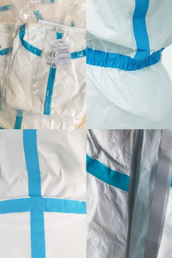 Medical protection disposable isolation work clothes isolation virus protective clothing