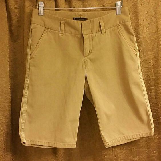 Express datk khaki shorts | Khaki Shorts, Knee Length Shorts and ...