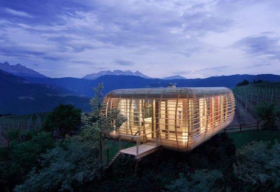 fincube | architektur, einzigartig und wolle, Innedesign