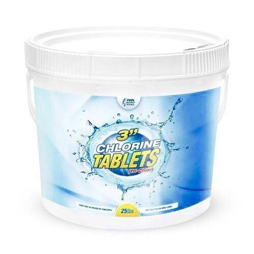 Other Pool Chemicals And Testing 181060 Chlorine Tablets 3 Pool Sanitizer Chemical 99 Tri Chlor 25 L Pool Chlorine Swimming Pool Chlorine Pool Chemicals