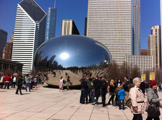 The Bean, Chicago.