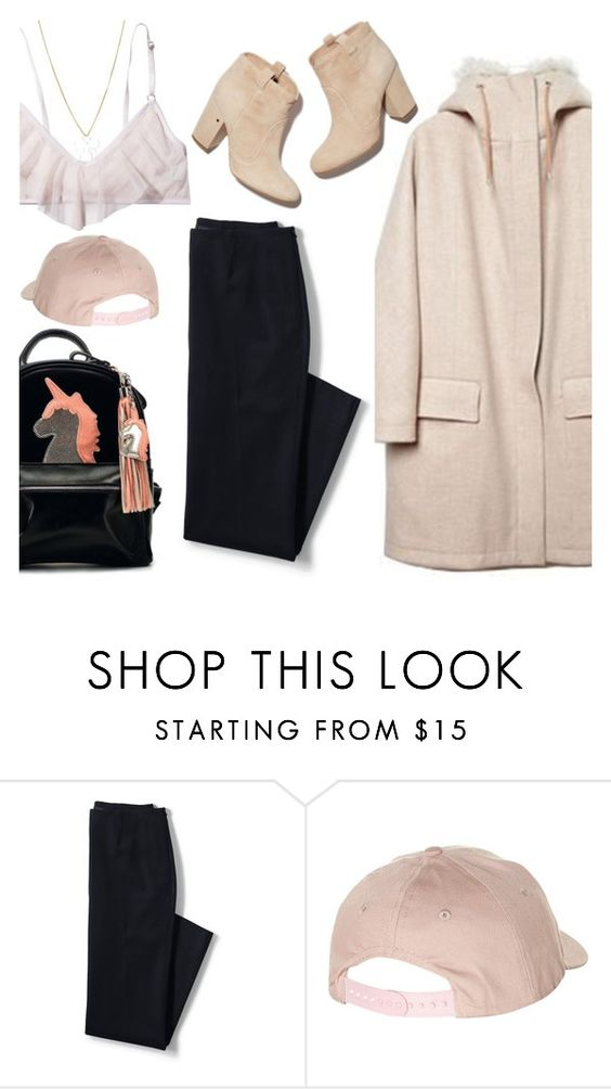 """""""Top Hat: Baseball Cap Style"""" by thepommier ❤ liked on Polyvore featuring Only Hearts, Lands' End, Billabong, baseballcap and baseballhats"""