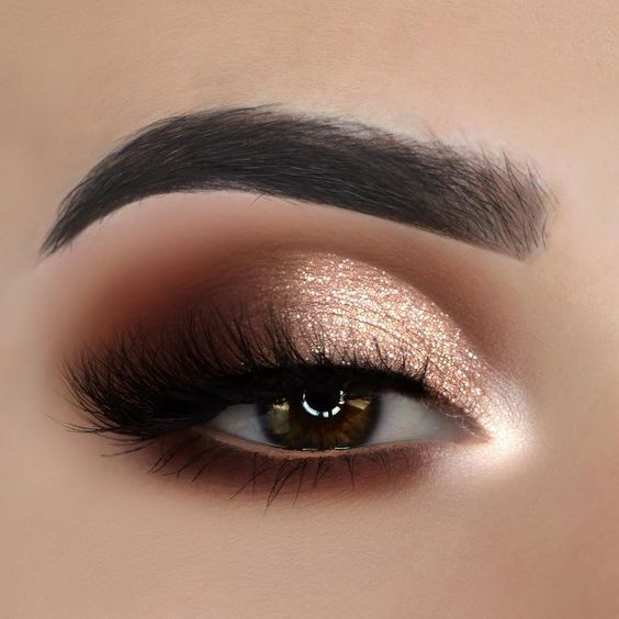 2019 Beautiful Makeup Styles for Brown Eyes