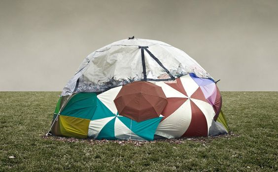 Tent Extravaganza in Stuttgart, Germany by German photography studio Frank Bayh & Steff Rosenberger-Ochs