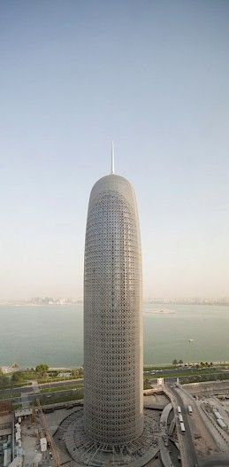 BEST TALL BUILDING MIDDLE EAST AND AFRICA:  Doha Tower