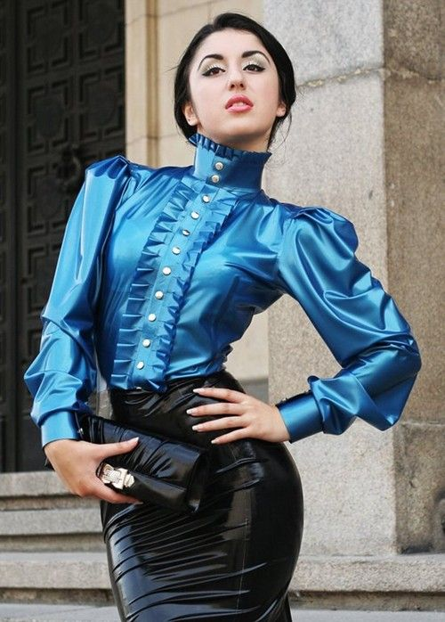 Ladies Frilly Blouses