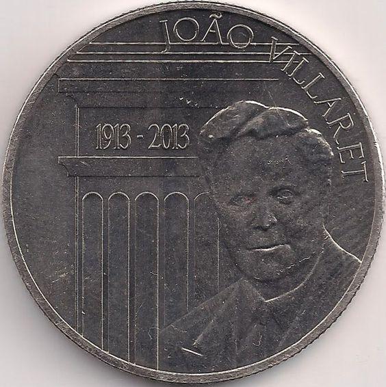 Motivseite: Münze-Europa-Südeuropa-Portugal-Euro-2.50-2013-João Villaret
