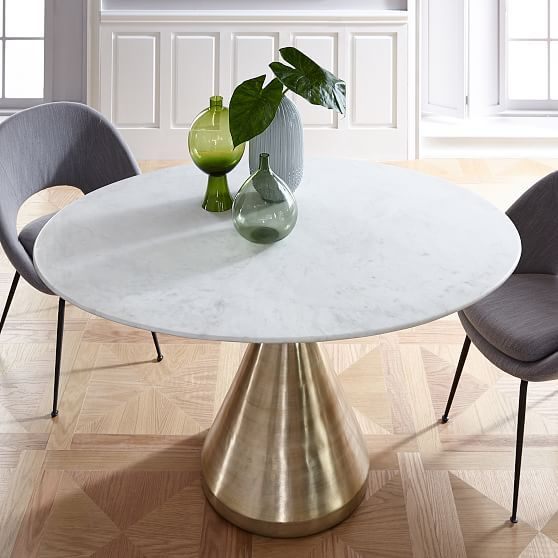 Silhouette Dining Table Oval Marmor Esstische Marmortisch