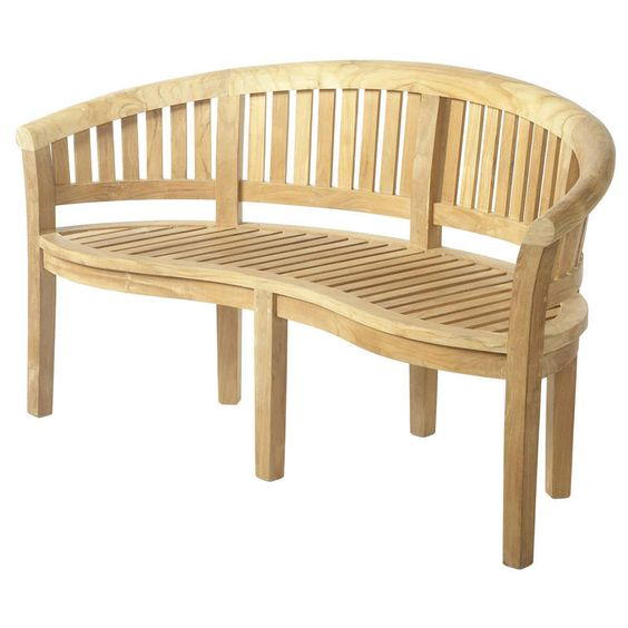 bramblecrest broadway banana bench teak 009 garden furniture 4u garden furniture
