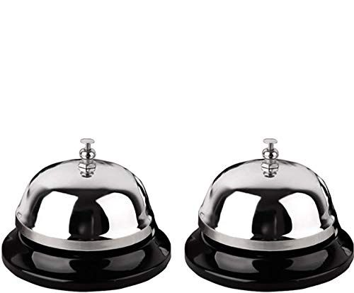 Call Bell 2 Packs 3 35 Inch Diameter With Metal Anti Rust Construction Ringing Durable Desk Bell Service Bell For In 2020 Bell Service Call Bells Anti Rust