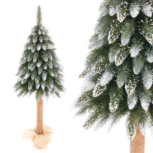 Choinka Sztuczna Na Pniu Jodla Diamentowa 100 Cm 8555034527 Allegro Pl Christmas Wreaths Holiday Decor Holiday
