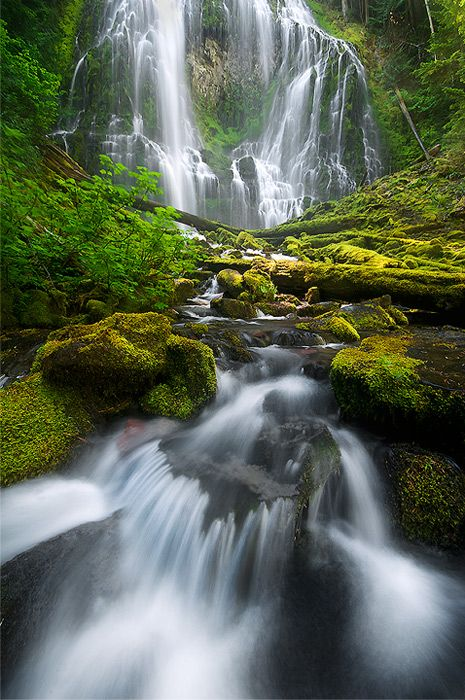 waterfall...: Photo by Photographer Rick Lundh - photo.net