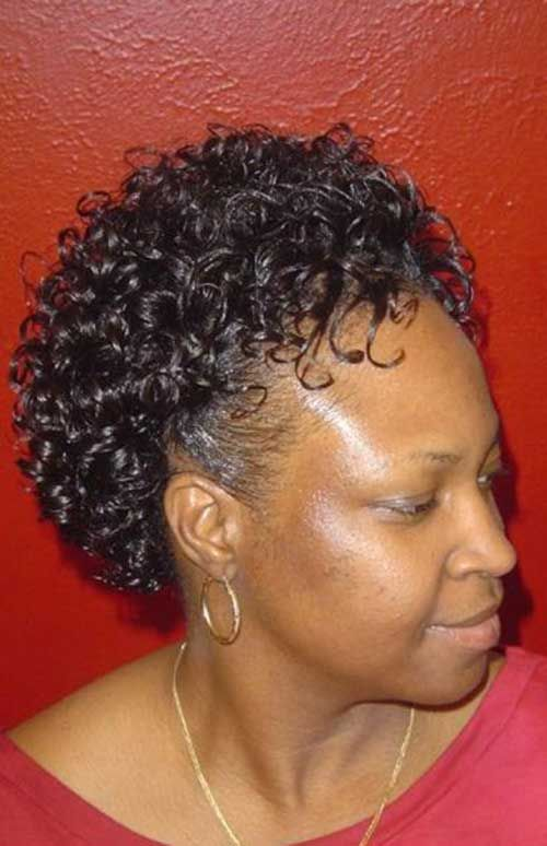 Brilliant Short Thick Curly Hairstyles Older Black Women 500774 Hairstyle Inspiration Daily Dogsangcom
