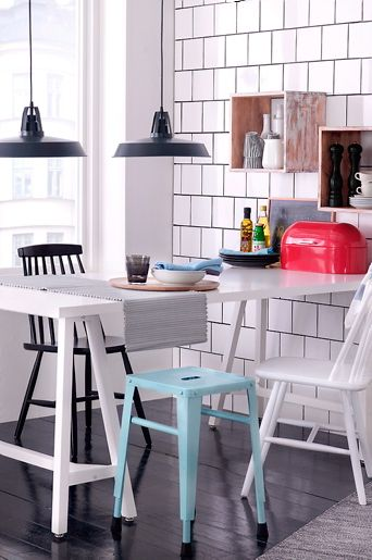 Matbord + pinnstolar | Matrum | Pinterest | Home, Chairs and Stools