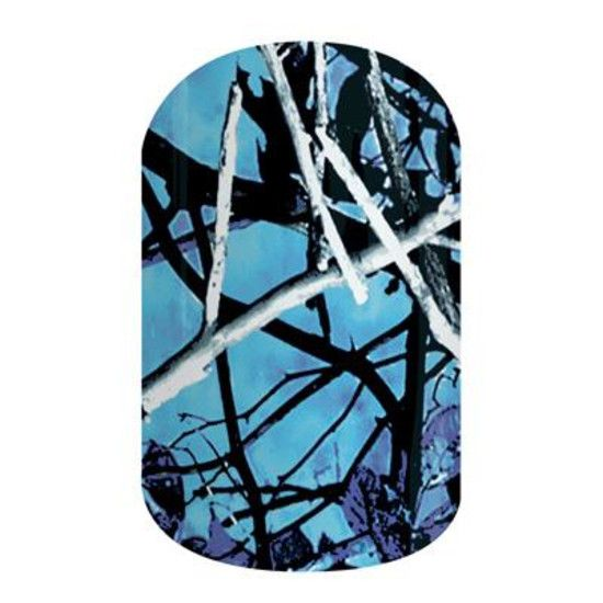 Undertow Camo | Jamberry Nails Stand out while blending in with Jamberry's officially licensed Undertow Camo design.  #UNDERTOWCAMOJN