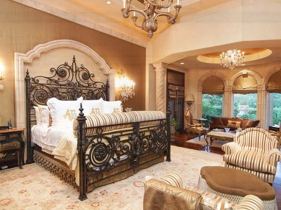 Parents room spring and santa barbara on pinterest Master bedroom in a mansion