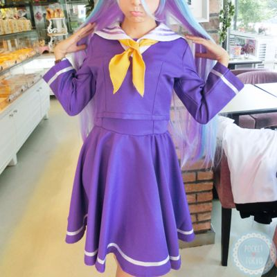 No game no life shiro sailor seifuku dress