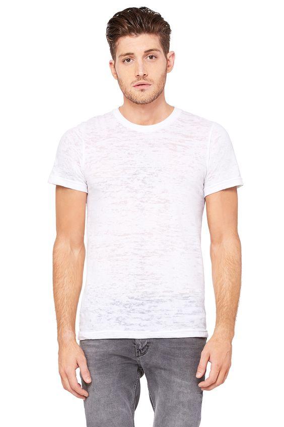Wholesale Clothing | Men's Burnout Short Sleeve Tee