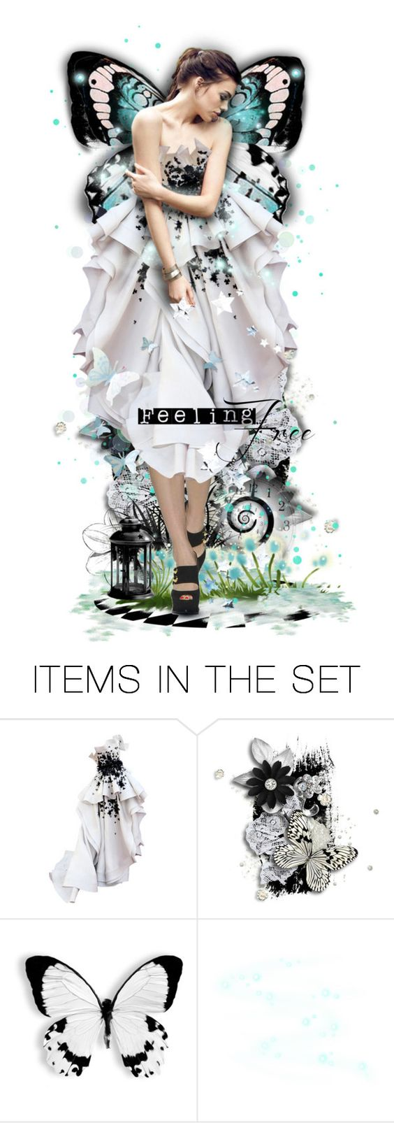 """""""New Beginning"""" by lastchance ❤ liked on Polyvore featuring arte, art, dolls y lastchance"""