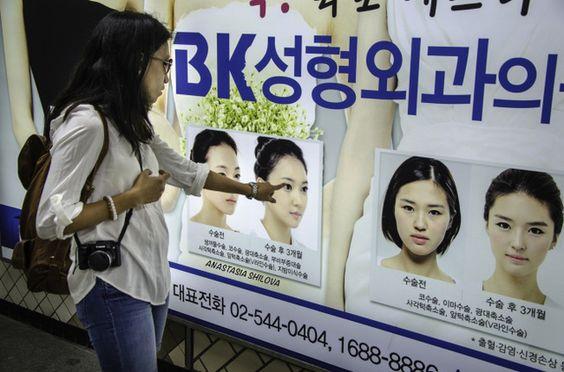 Phẫu thuật thẩm mỹ ở Hàn Quốc là chuyện rất bình thường