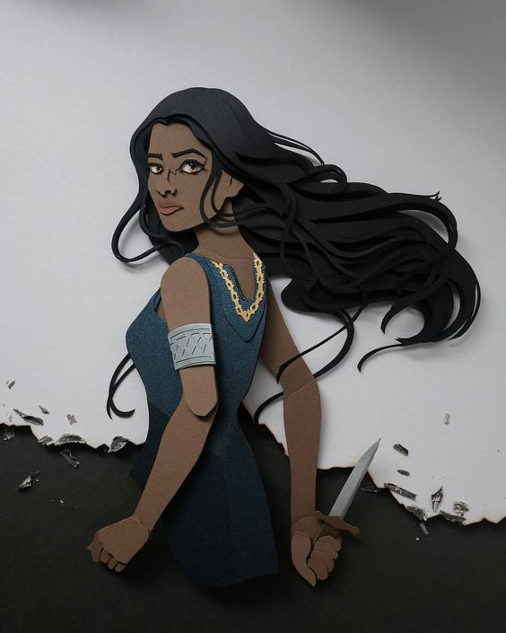 """""""I do not doubt, I do not hesitate. I am the Lioness' Daughter and I have the Lioness strength."""" Laia of Serra, An Ember in the Ashes…"""