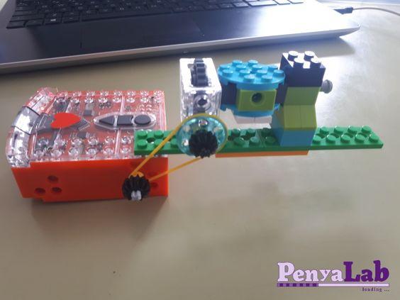 Diari d'un dispensador Edison 3 – Integrant Edison i Lego
