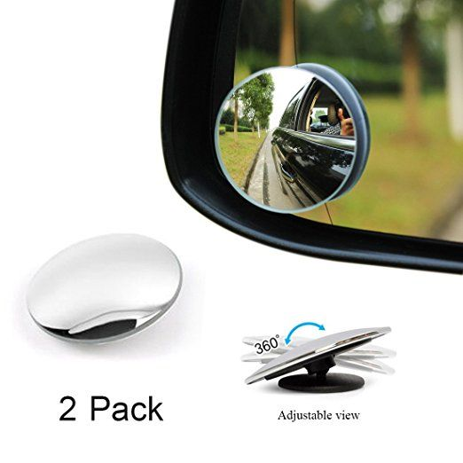 These Mirrors Are The Best I Ve Ever Seen For Putting On Computer Monitors Because They Are So Easily Adjustabl With Images Side Mirror Car Mirror Kit Blind Spot Mirrors