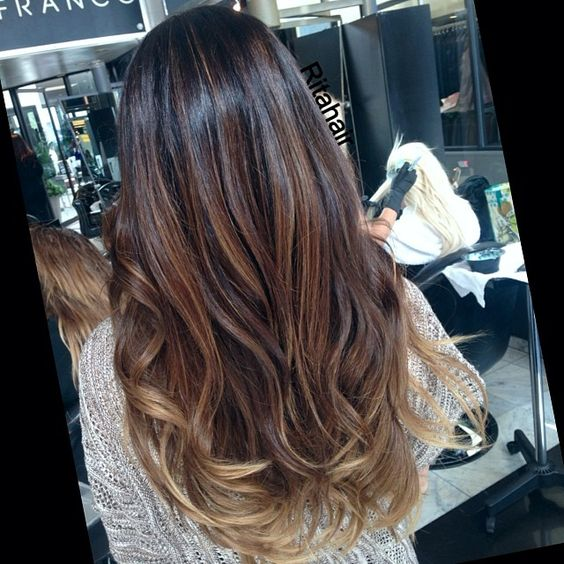 soft ombre bayalage