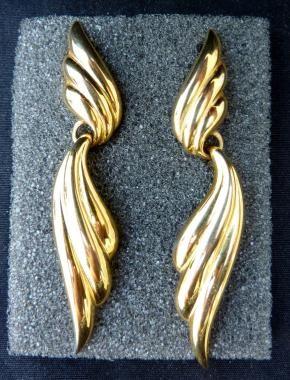 Erwin Pearl P.E.P. Vintage Earrings Pierced *FREE SHIPPING*